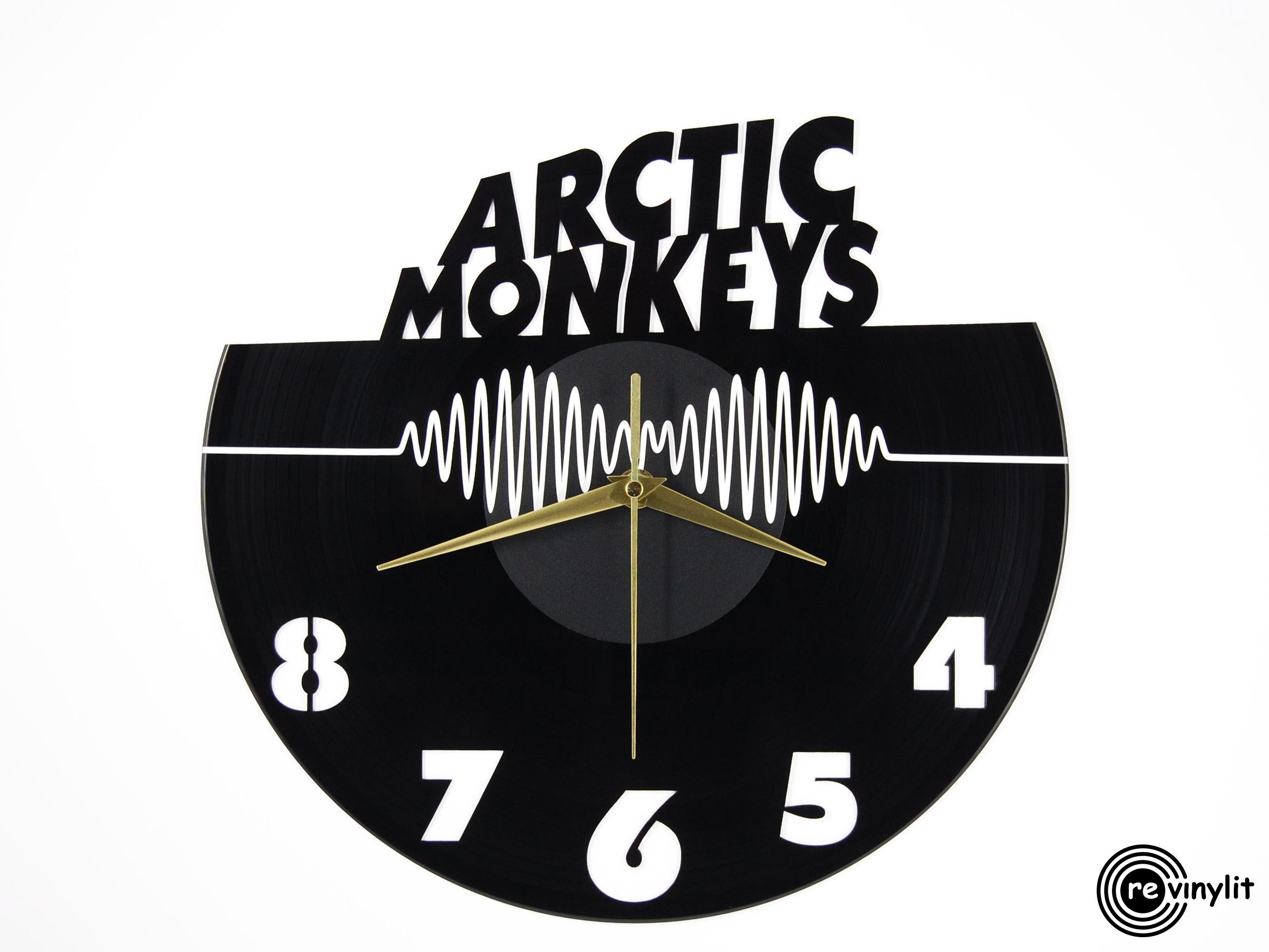 Arctic Monkeys Vinyl Record Clock Revinylit On Storenvy