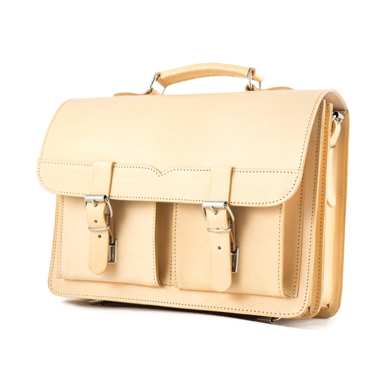 fbc75ac6191d Leather Messenger Bag, Leather tote bag, School Bag, Backpack, Leather  Briefcase, Laptop Bag, Men's and Women's Bag J190N Natural