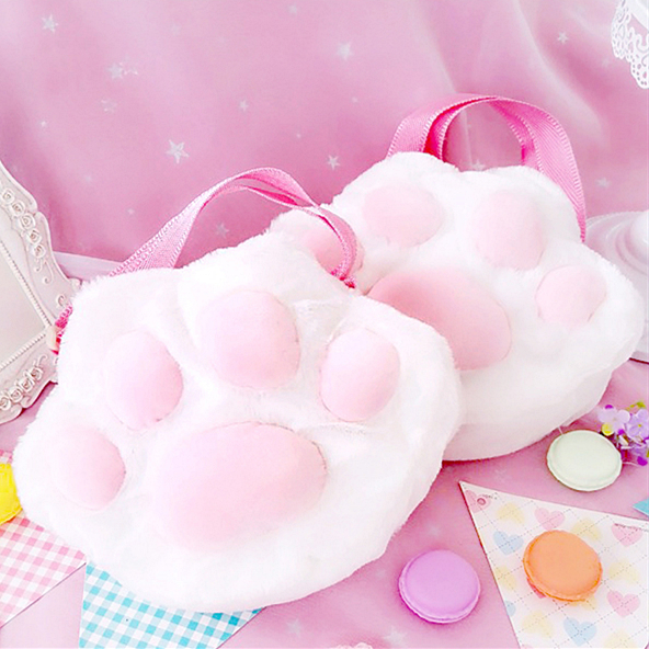 1a1809607afa Kitty Claws Fluffy Bag P0048 · PrettyPomPon · Online Store Powered by  Storenvy