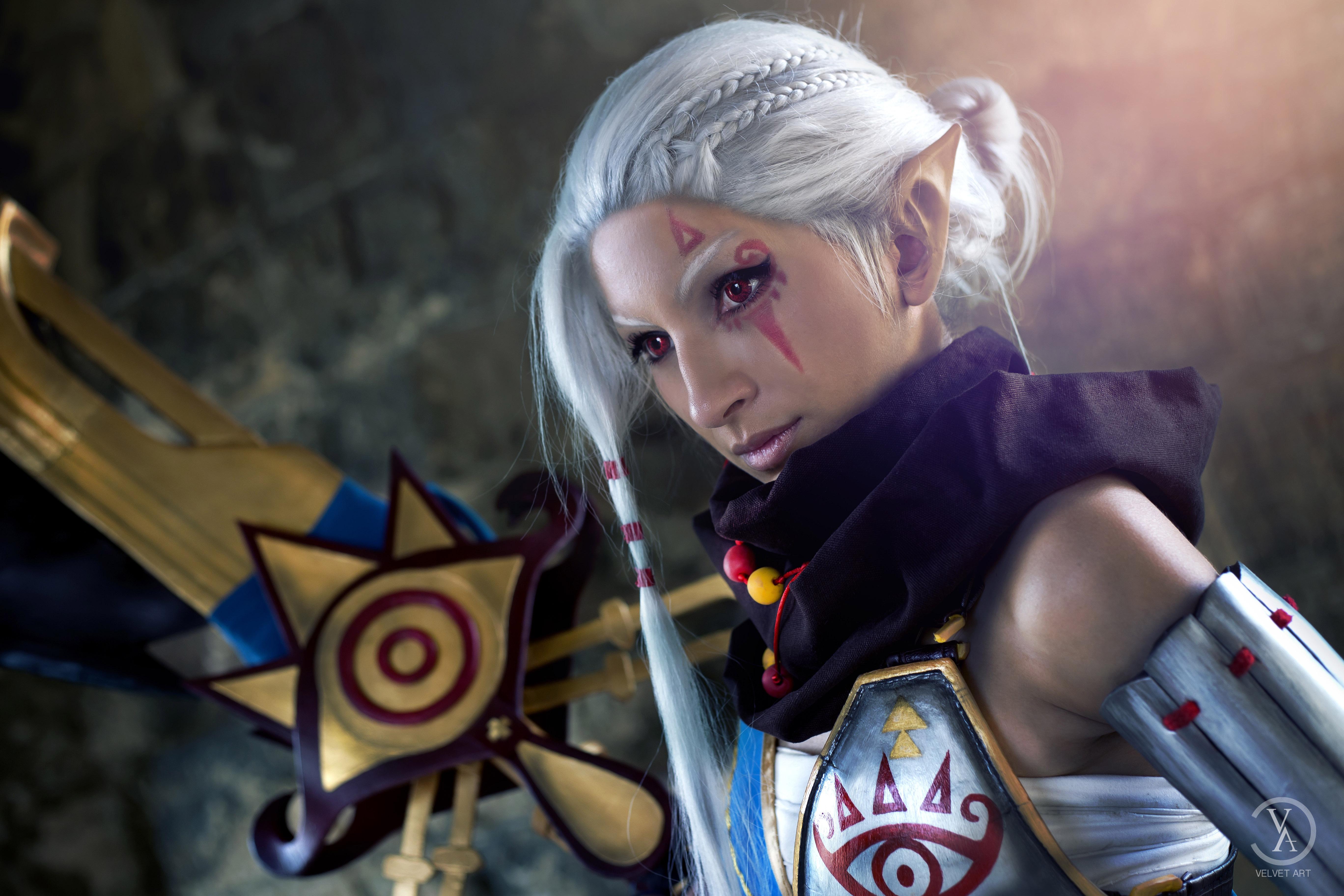 Hyrule Warriors Impa Velvet Art Online Store Powered By Storenvy