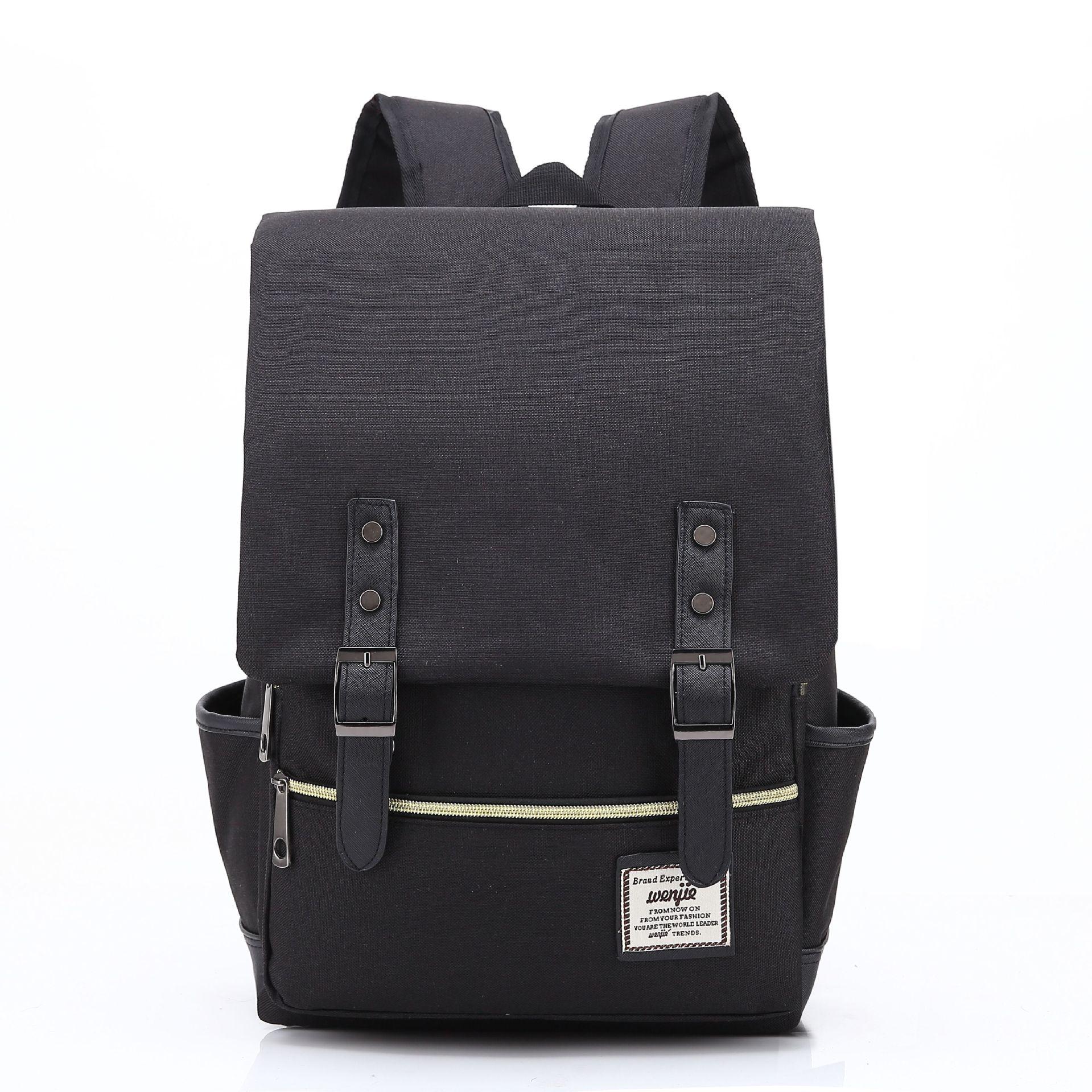 f7b6b9480 Men Women Vintage Casual Canvas Backpack | Building Materials ...