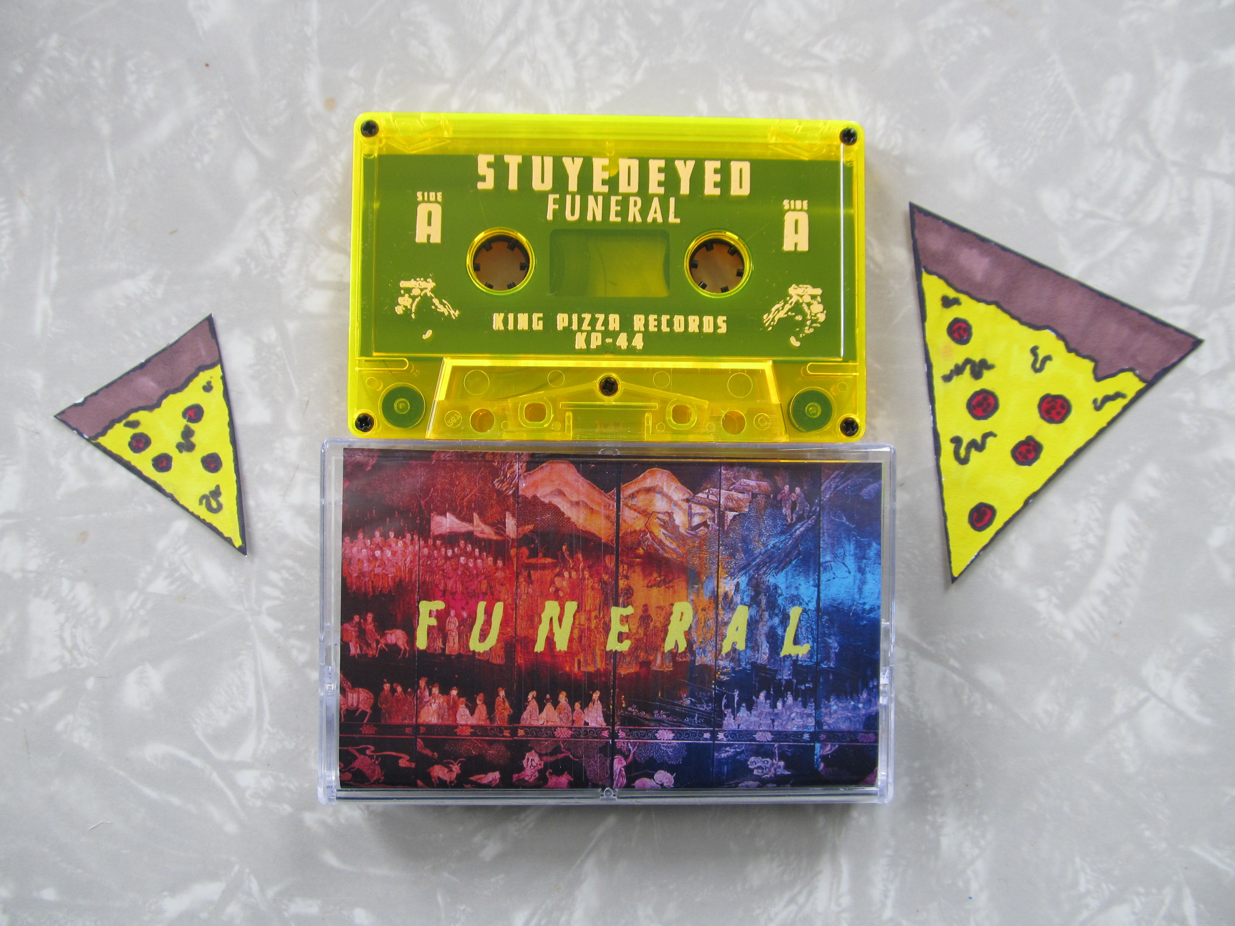 Stuyedeyed Funeral Cassette 183 King Pizza Records