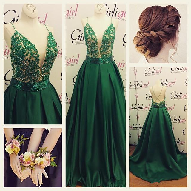 Beautiful V-neck Prom Dress a4902a2db