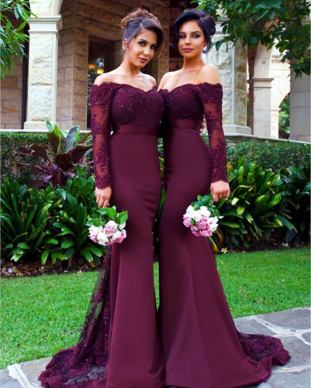 082dd9e32579 Long Sleeve Prom Dress