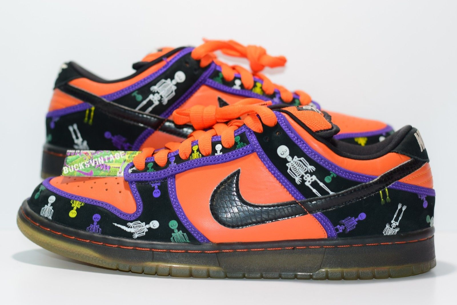 buy online cd748 0844c Size 11 | 2006 Nike Dunk SB Day of the Dead DOTD 313170-801 from  BucksVintage