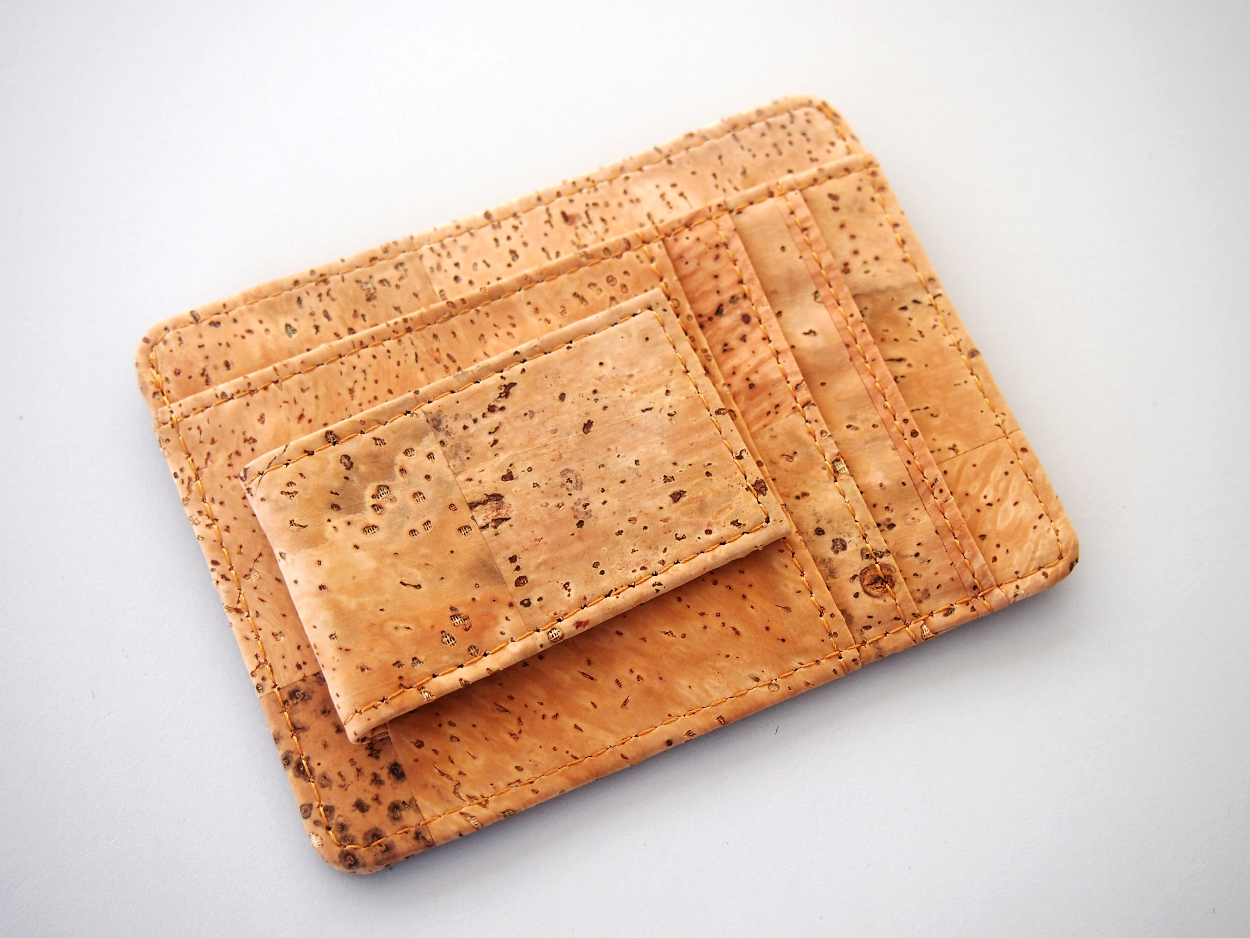 Cork all in one card holder with money clip business card holder cork all in one card holder with money clip business card holder money clips card wallet colourmoves