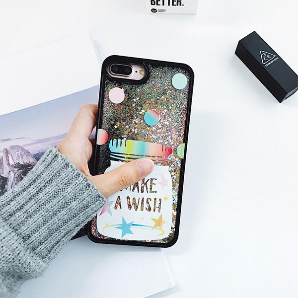 best cheap c8135 3b125 Make A Wish Quicksand iPhone Case from Cute Trendy Cases