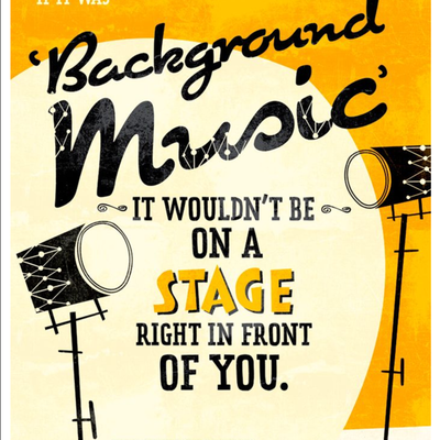 Ellington Jazz Club 1 Art Print Taken From A Vintage Concert Poster