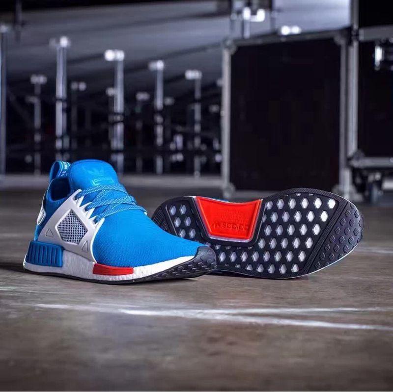 ... NMD xr1 series knitting surface fashion running shoes blue - Thumbnail 4 aef5dc66e