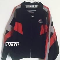ccd7e3df Buffalo Bills Vintage Faux Leather Jacket on Storenvy
