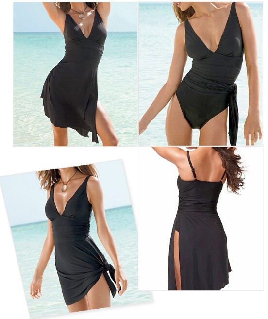 Swimwear One Piece Swimsuit Dress Bathing Suits Swimming Suit For