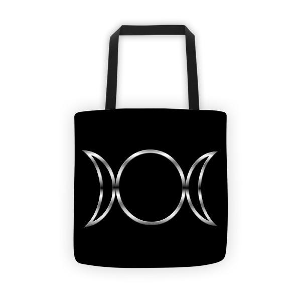 Pagan Triple Goddess Symbol Tote Bag On Storenvy