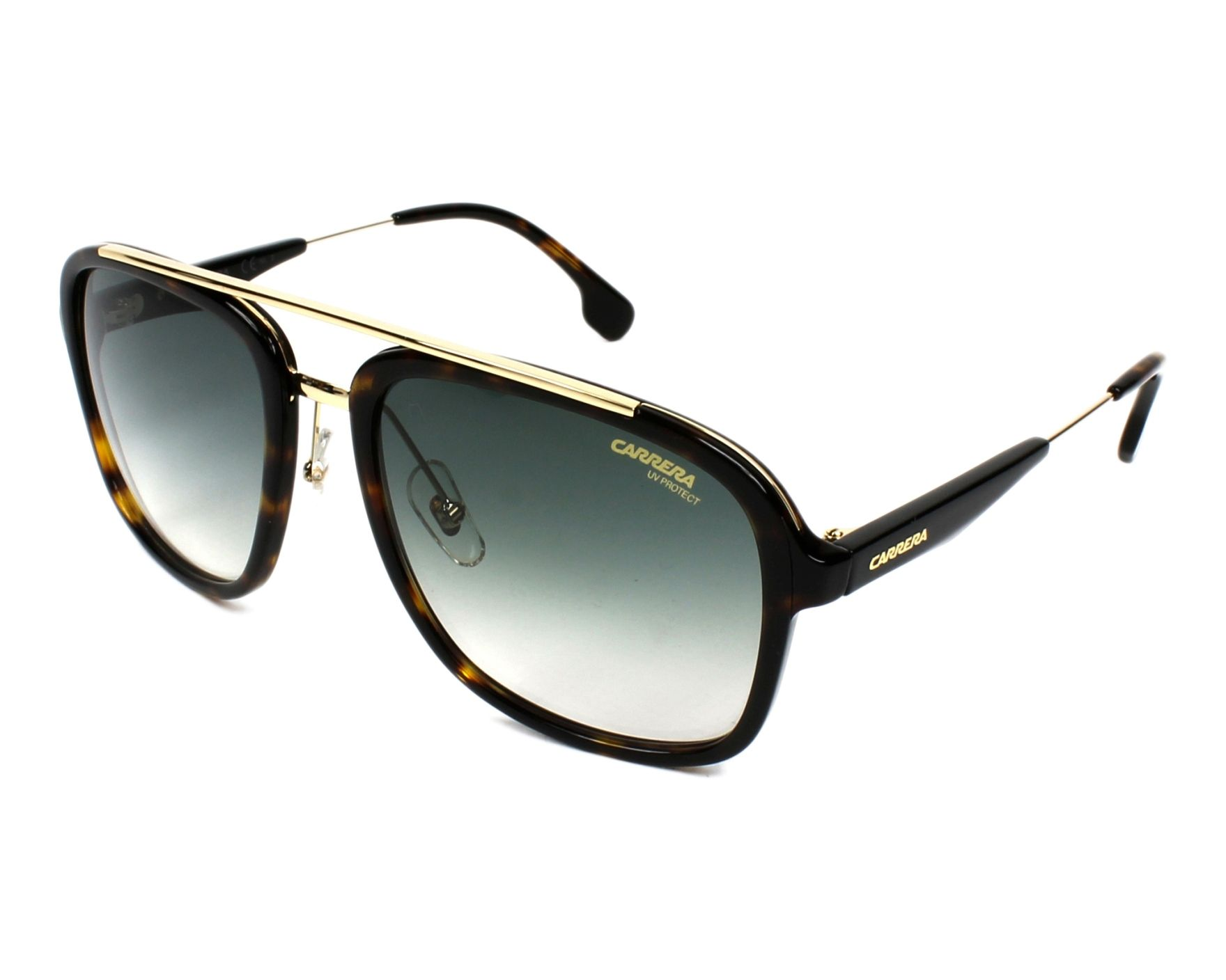 Carrera frame havana - gold / glasses grey gradient CARRERA 133/S ...