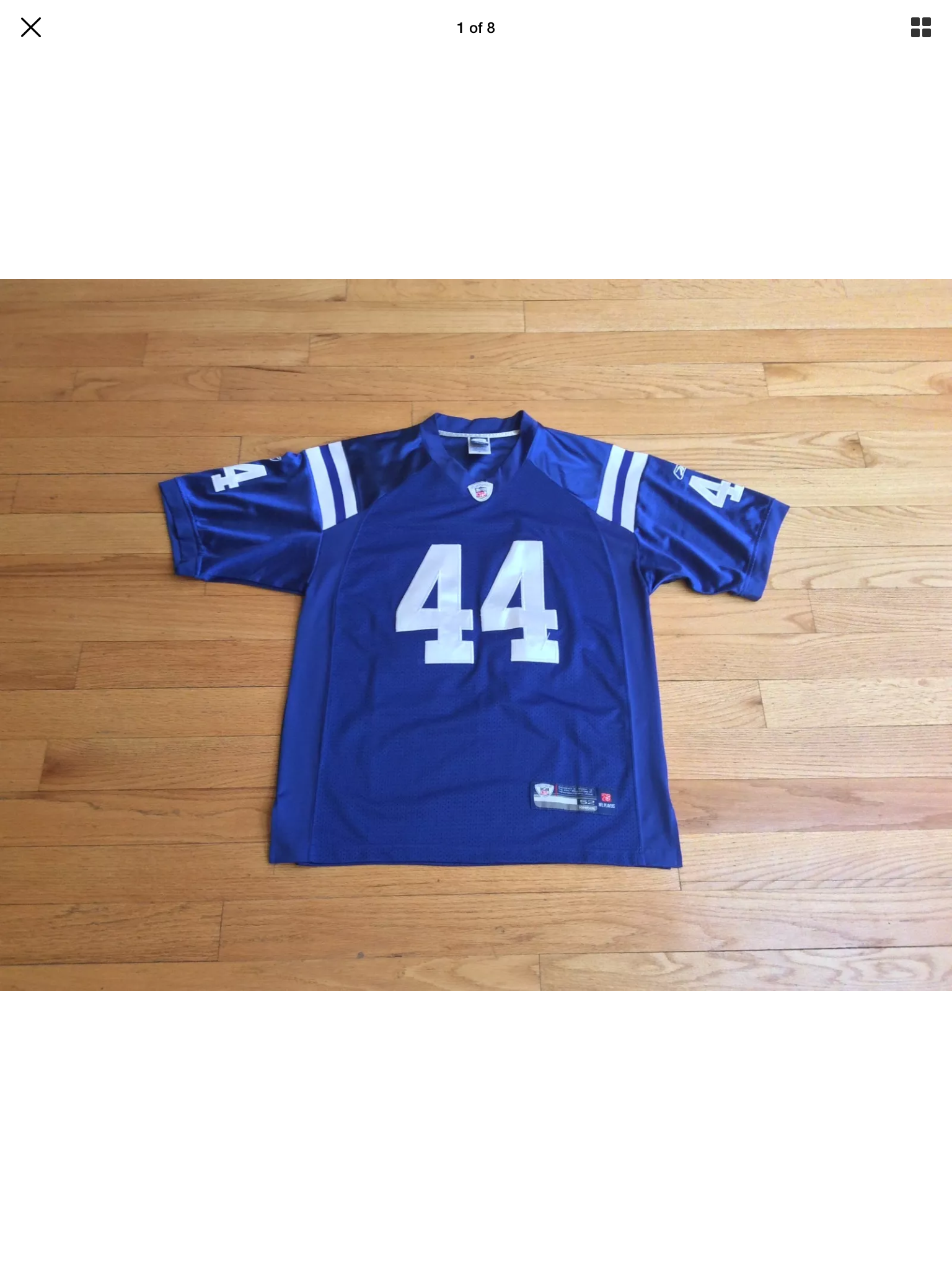 f3ec5634 Indianapolis Colts NFL Dallas Clark Home Jersey on Storenvy