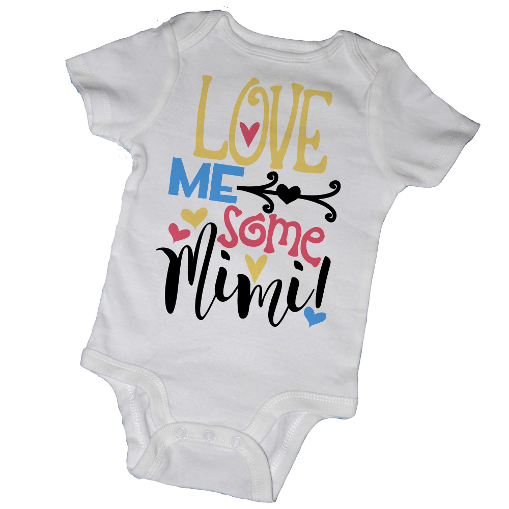 a2e20431cc58 LOVE ME SOME MIMI Baby Bodysuits   Tot Tees on Storenvy