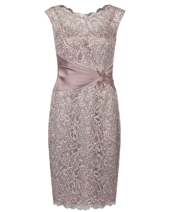 bf69f20eafc0 2017 Eleagnt Sheath Light Lace Mother Groom, Dresses for Mother of Bride