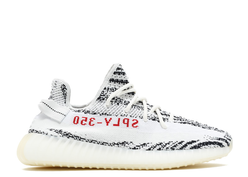 "f85d4c8165c0 ADIDAS YEEZY BOOST 350 V2 ""ZEBRA"" Wmn   Men 5.5- 11 Color  Footwear ..."