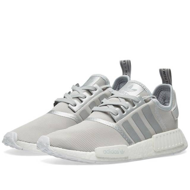 0677fe03b Fashion nmd r1 raw gray silver women s casual shoes on Storenvy