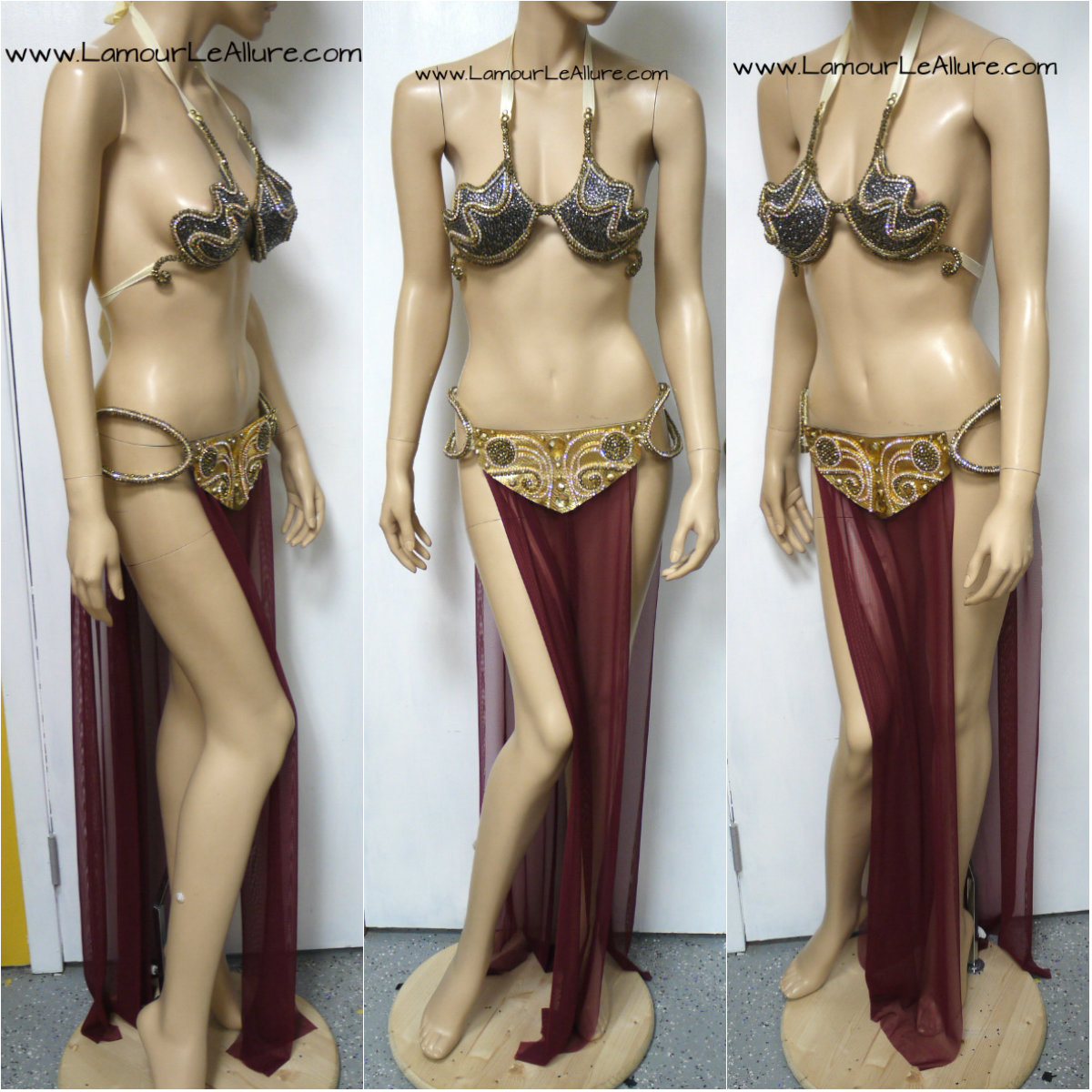 Star wars princess leia slave cosplay share