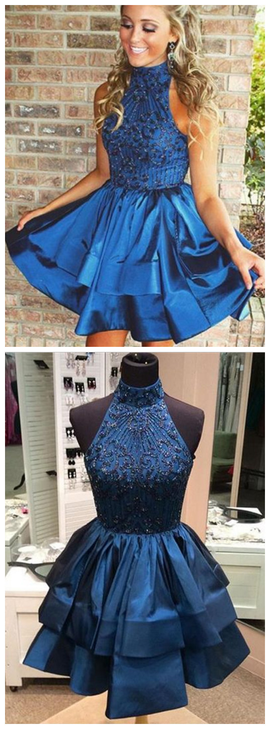 2018 sexy beading homhcoming dresses ,short prom dresses ...
