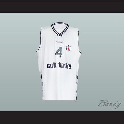 f1881d413 Allen iverson 4 turkish basketball jersey stitch sewn all sizes new -  Thumbnail 5