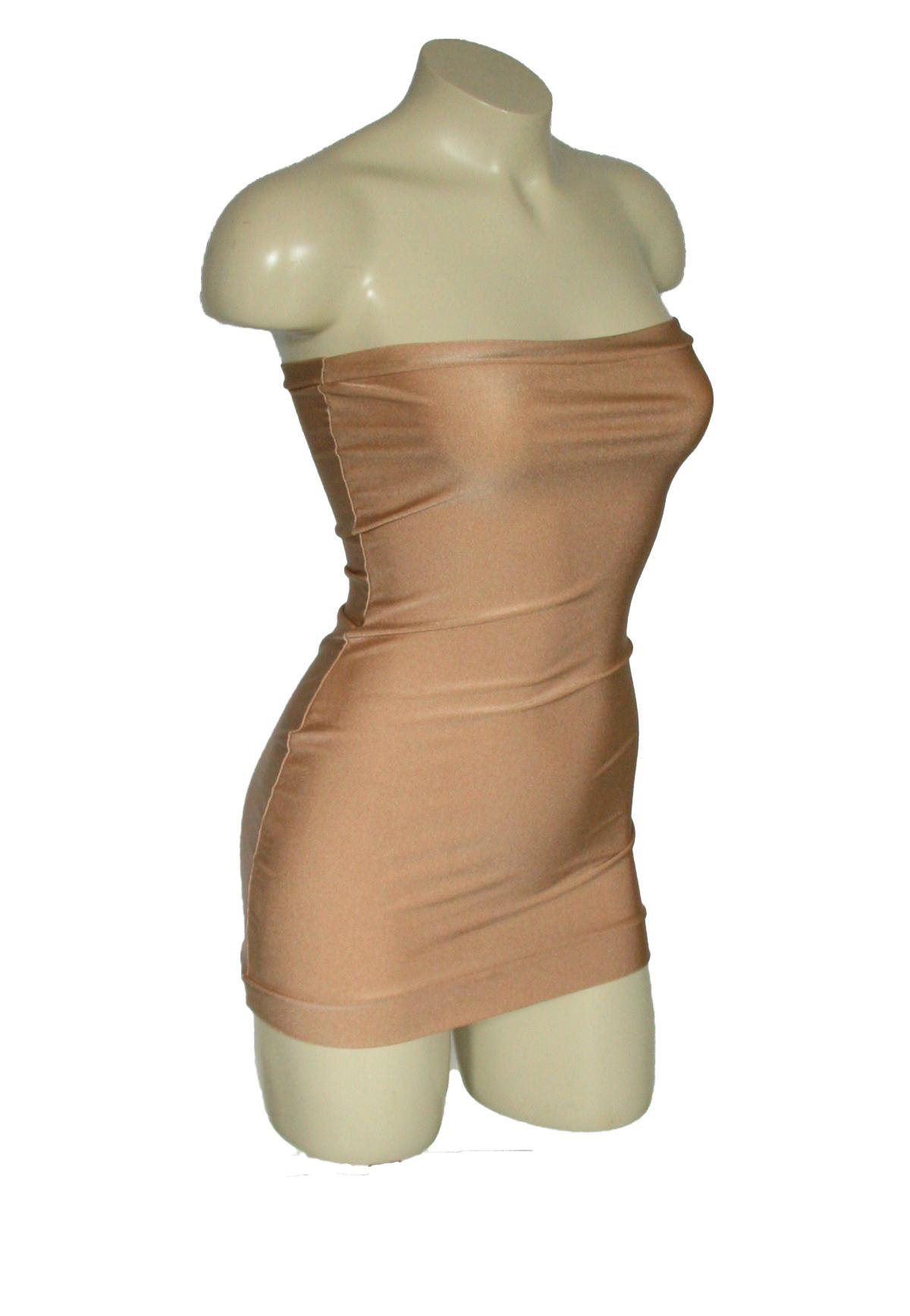 Micro Mini Tube Dress Gold Spandex on Storenvy b3a40f97a
