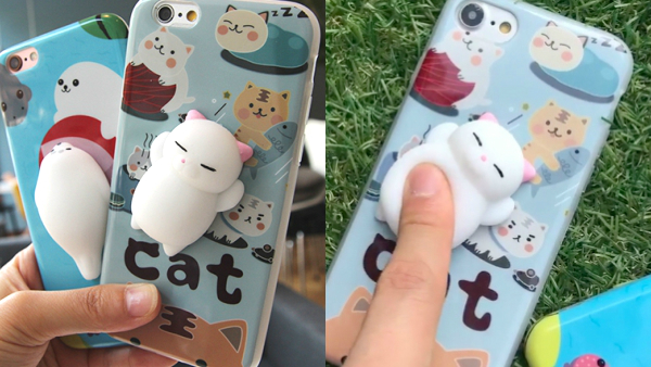 half off 575d0 cf16e Squishy Cute 3D Soft Silicone Animals TPU Case for iPhone 6s ; 6 ; 7 ; 7  Plus