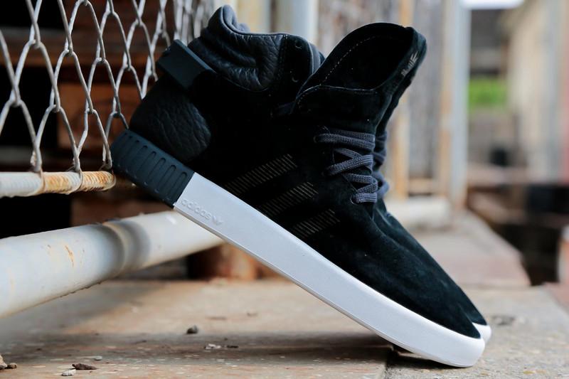 7313538447d1ce ... Adidas Tubular Invader Strap core black vintage white - Thumbnail 2 ...