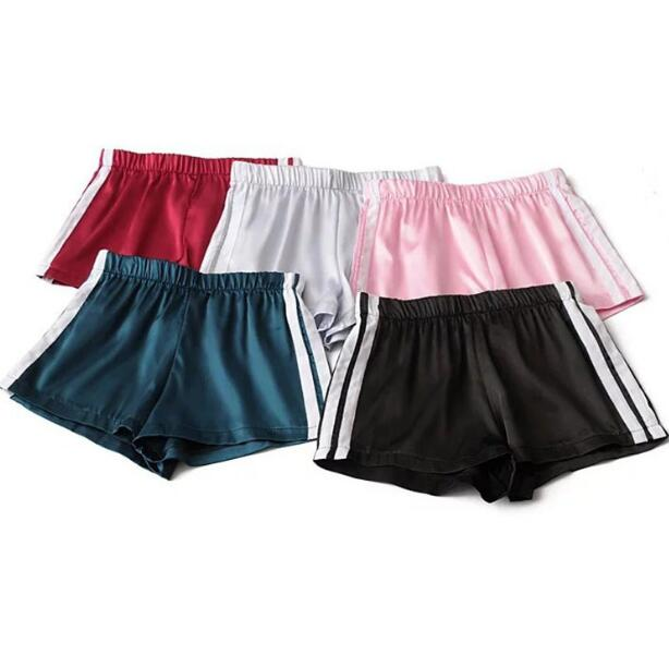 f65260ee7f3c Retro Vertical Stripes Satin Shorts · Moooh!! · Online Store Powered ...
