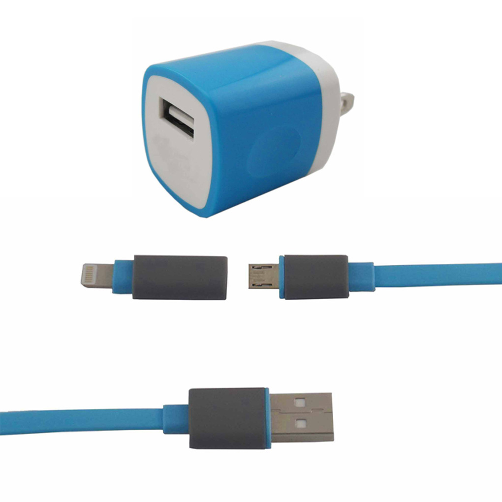 Portable Chargerclonew Portable Usb Wall Charger With 3 3ft1 Meter Android Charger Cable And Lightning Cable  Cable On Storenvy