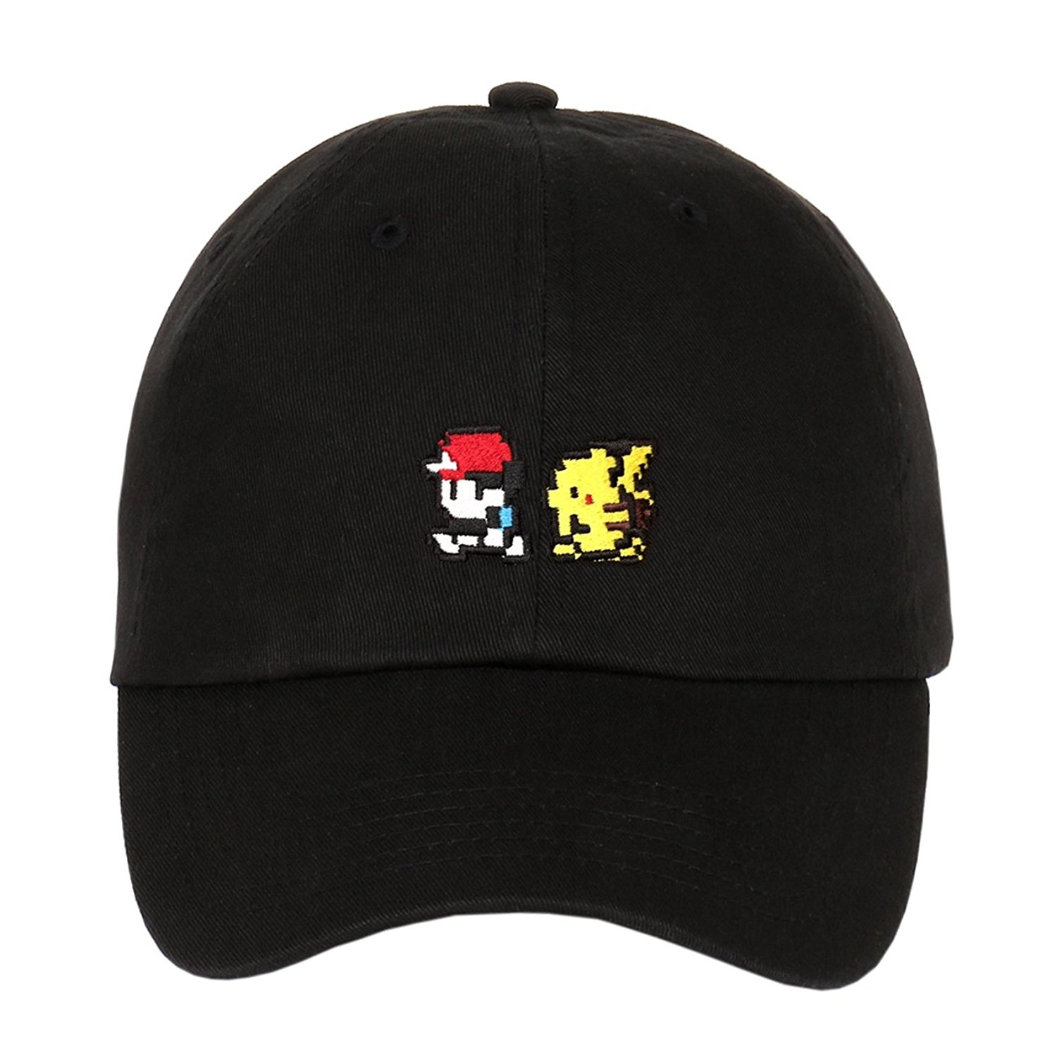 29b5844514b Embroidered Mini Logos on Unstructured Low Profile Baseball Dad Cap on  Storenvy