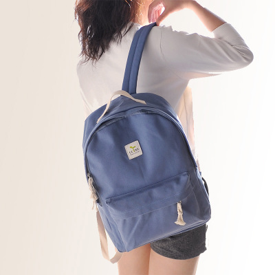 ... new style f5768 0cf02 Students canvas backpack ... 8283ea96609e