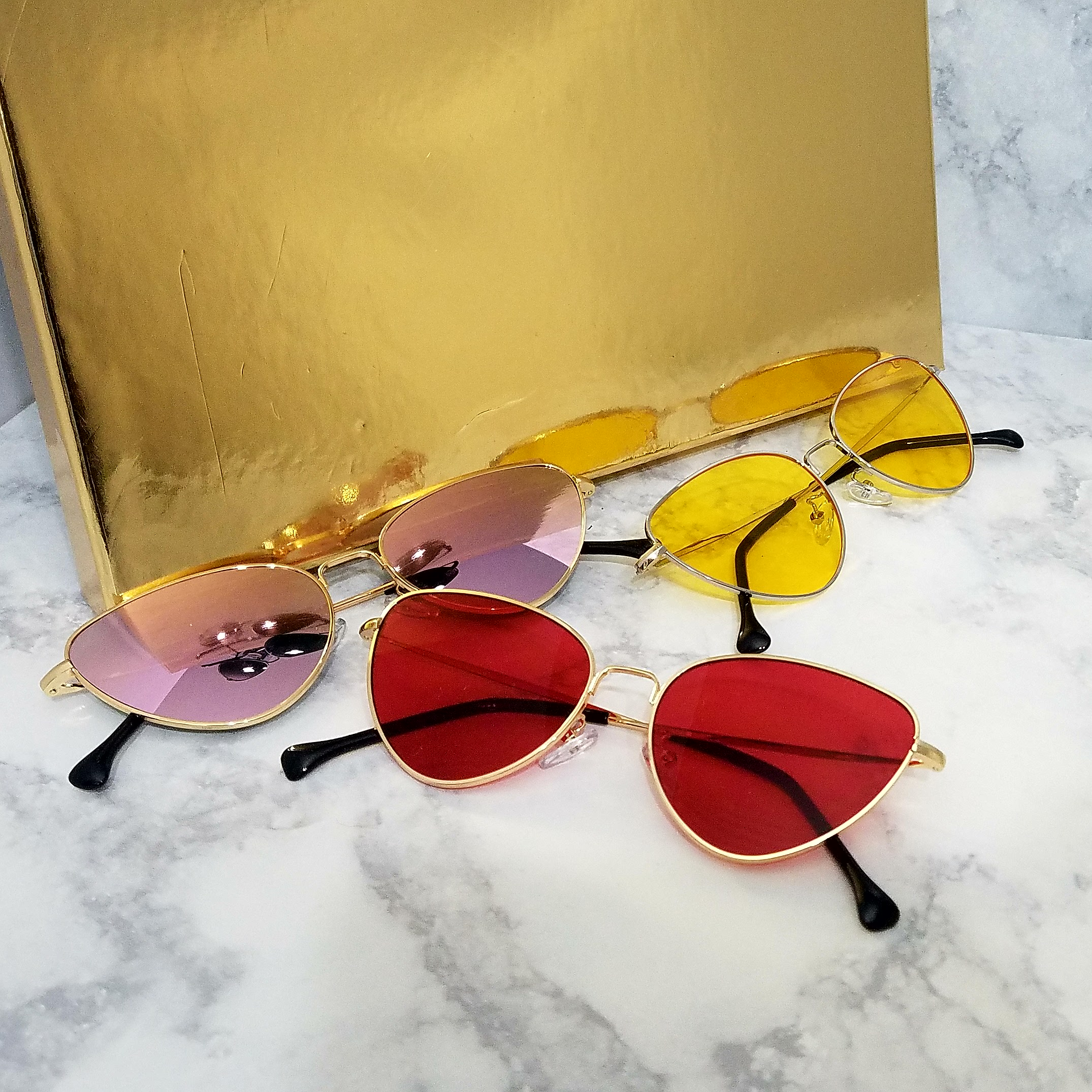 3c50473229e9 Cat Eye Colored Sunglasses · Imatterial · Online Store Powered by ...