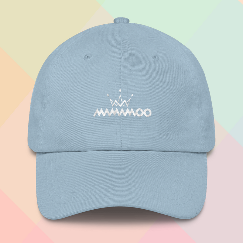 5fc2ac6b1ee95 MAMAMOO Embroidered Dad Cap on Storenvy