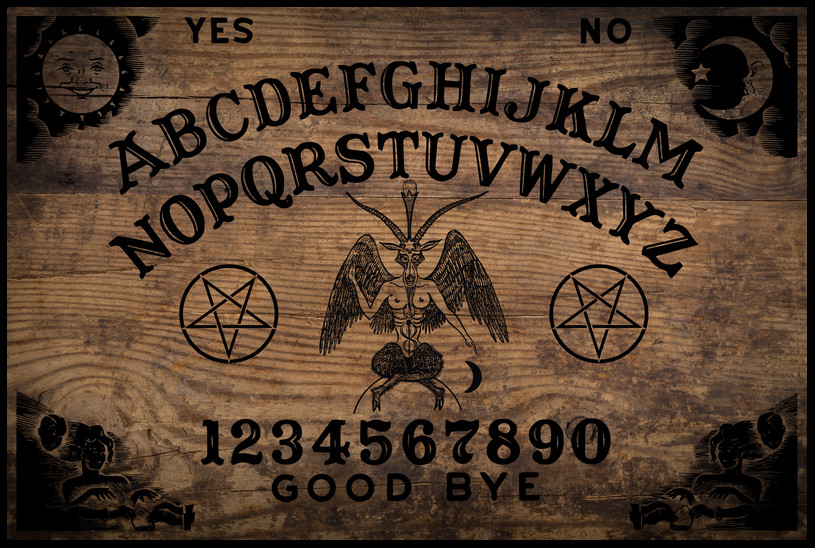 Ouija Board Plank Design From Occultboards Amp Planchette
