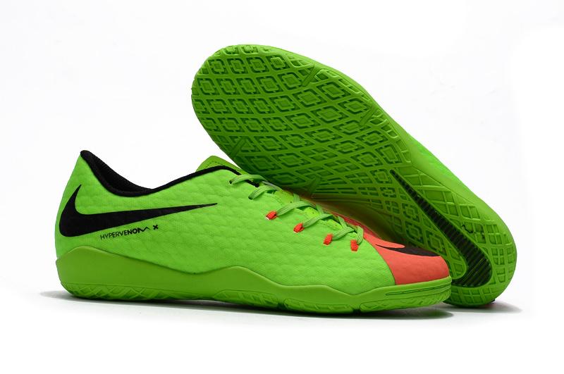 2017 Cheap Nike Hypervenom Phantom Premium IC Green Black Red on Storenvy 6485d2c96b74