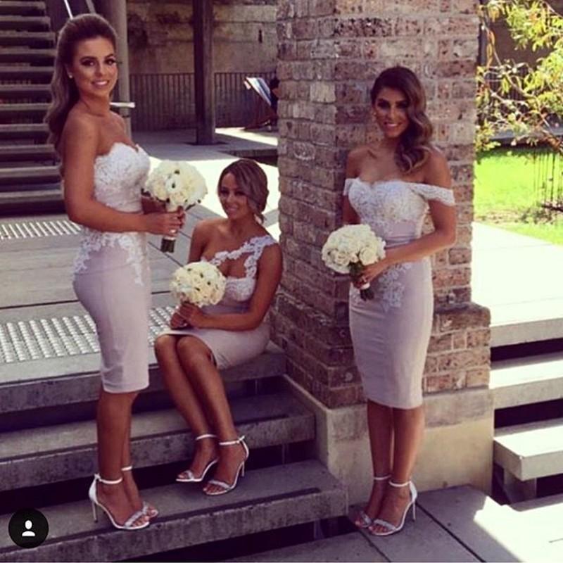 fa35de37da4e Charming Prom Dress, Sleeveless Lace Bridesmaid Dress, Sexy ...
