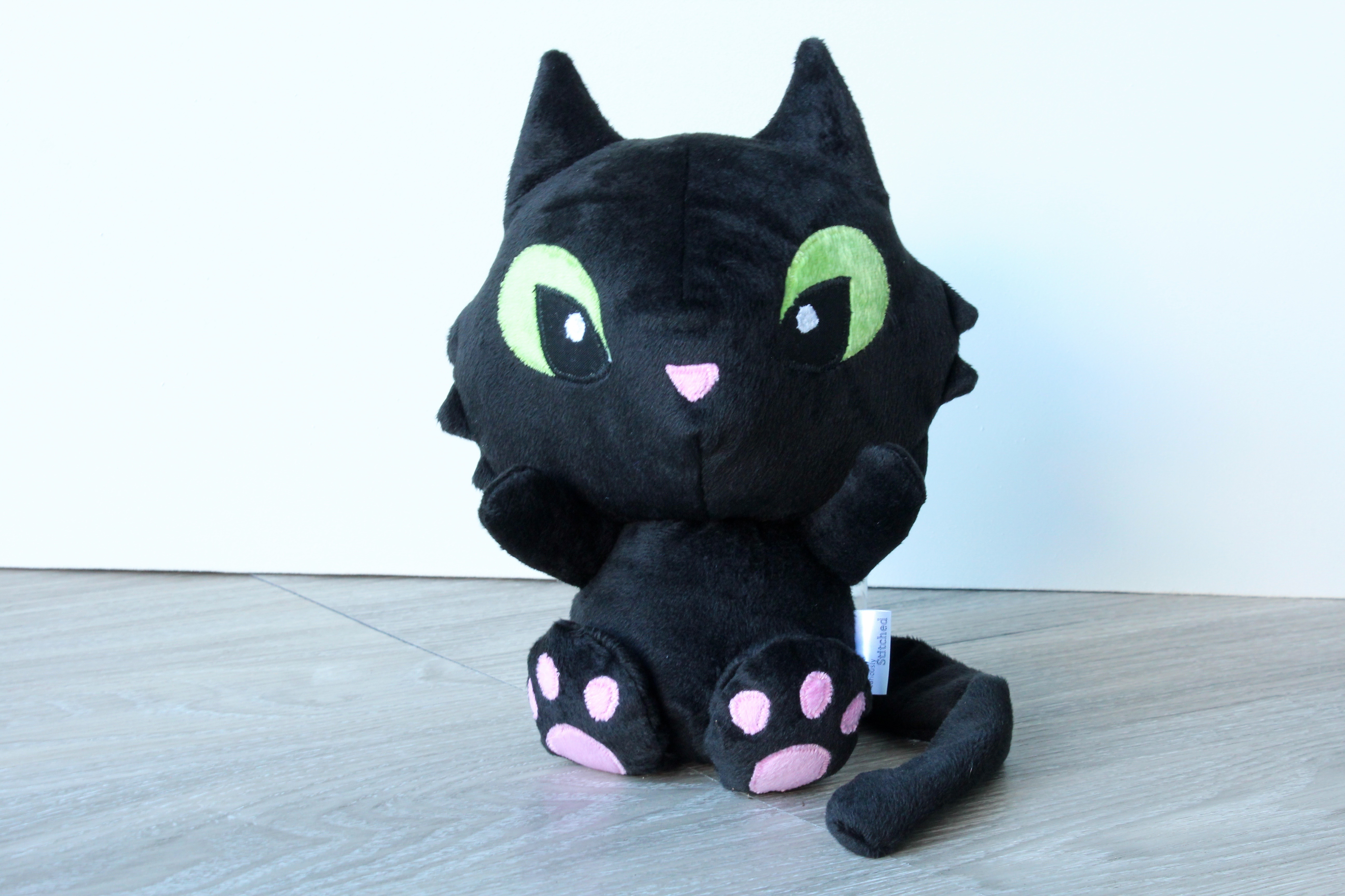Soft Kitty Toy Stuffed Cat Plushie Soft Toy Cosmic Creepers The