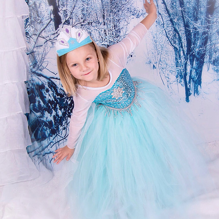Disney Frozen Inspired Lace Elsa Costume Dress Baby Girls Toddlers Princess Anna Party Dresses #  sc 1 st  kidscollections - Storenvy & Disney Frozen Inspired Lace Elsa Costume Dress Baby Girls Toddlers ...