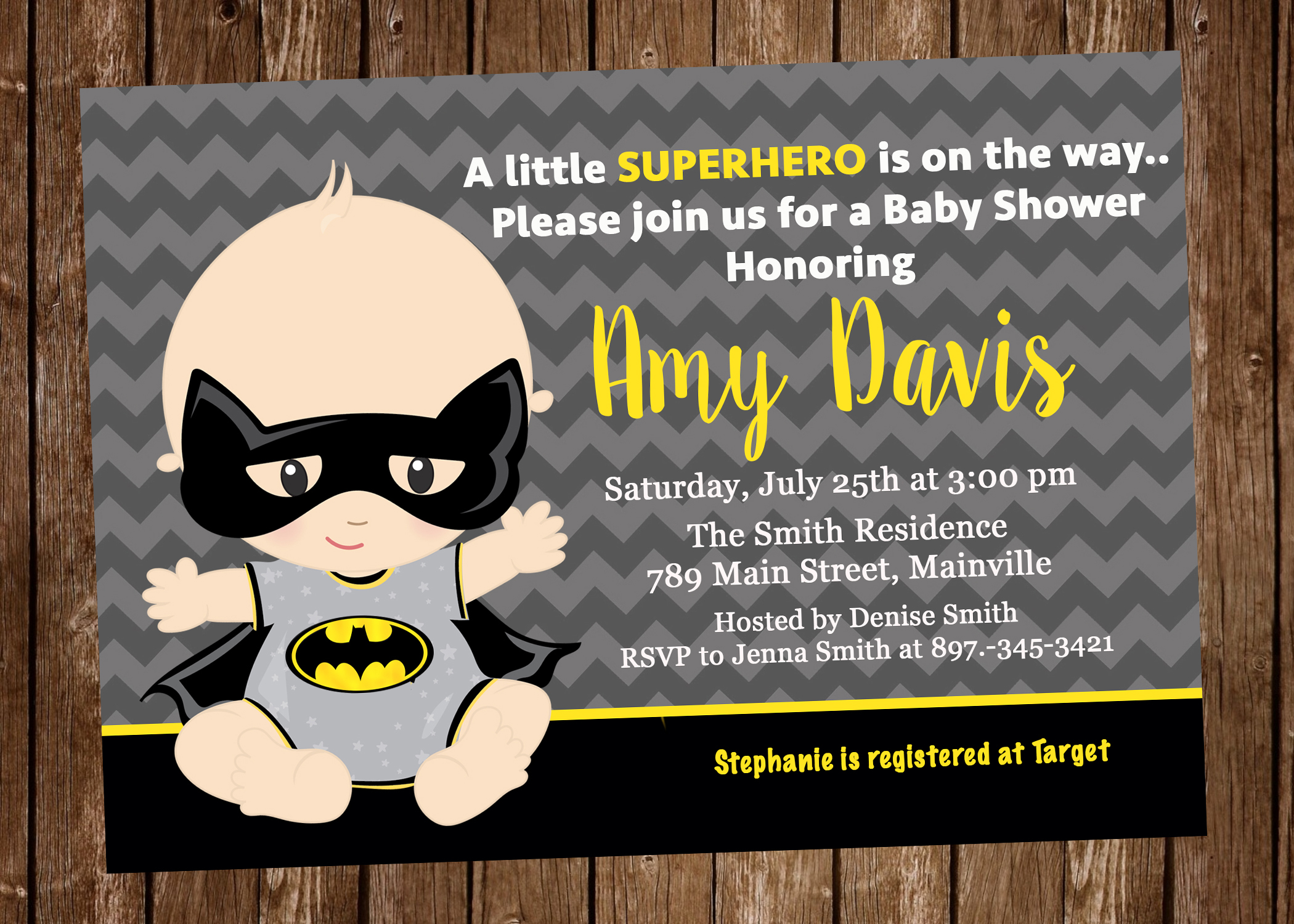 It's just a graphic of Free Printable Superhero Baby Shower Invitations throughout bridal shower