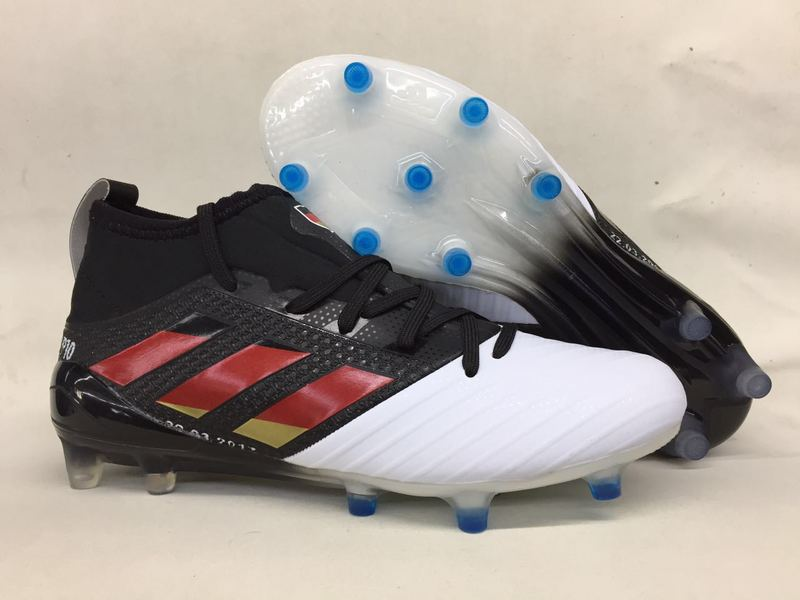 meet d0043 1349b Adidas Cleats Adidas Ace Primeknit 17.1 Red Black White sold by cleatssale4A
