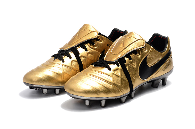 sports shoes 7ec1b 169f8 Nike Tiempo Totti X Roma Gold Black sold by cleatssale4A