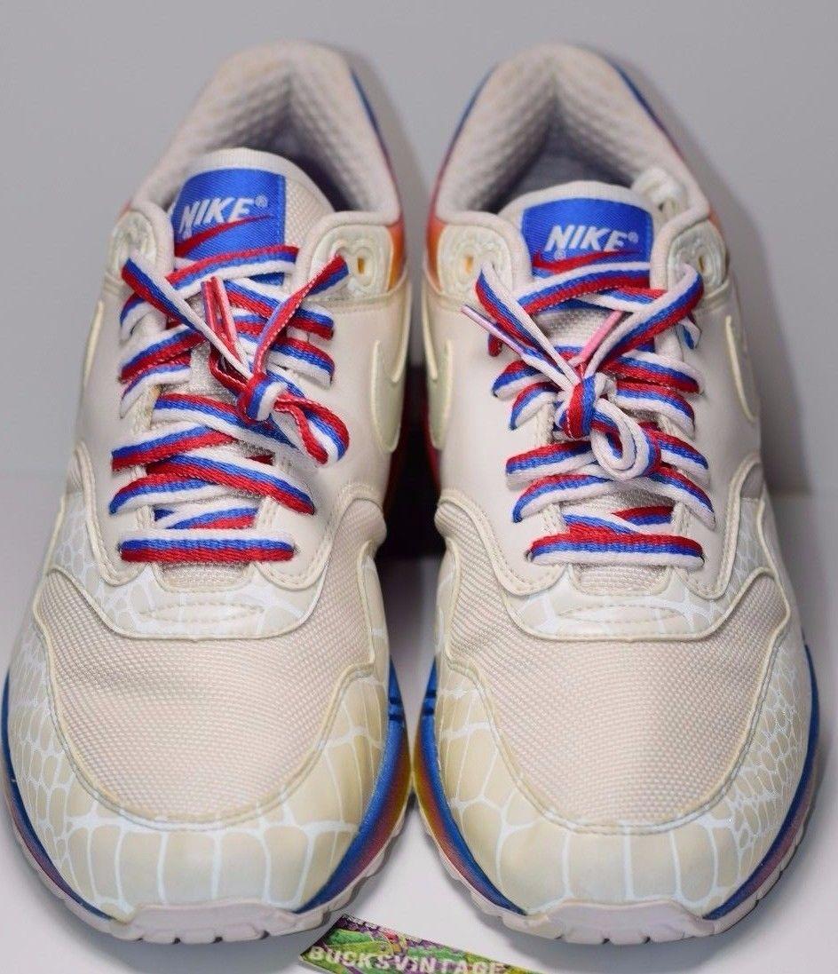 online store 6be21 1d631 ... Size 8   2007 Nike Air Max 1 Sunrise KAKIGORI Rainbow 312748-111 -  Thumbnail ...