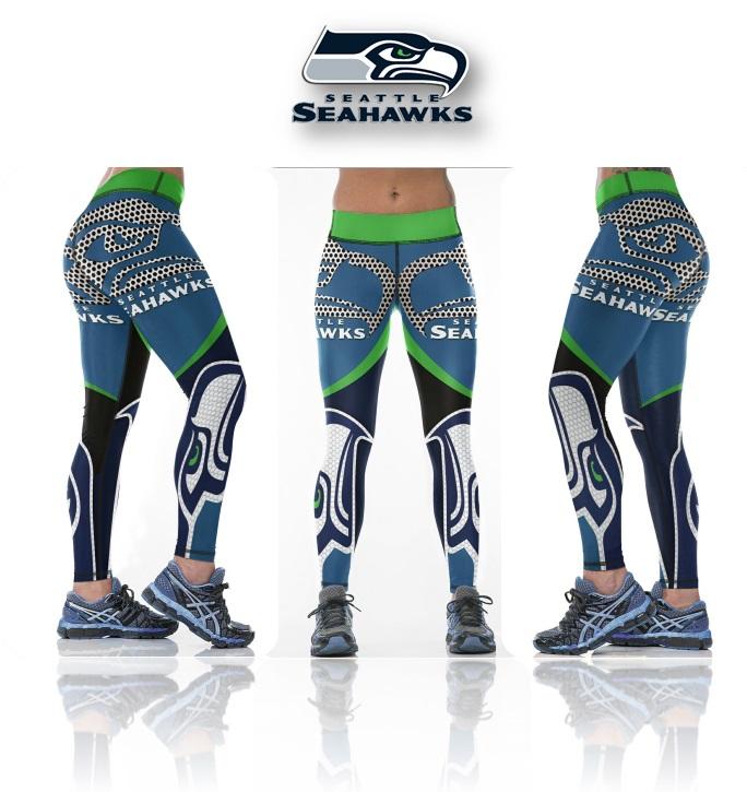 ec29b82952f New Season Seattle Seahawks NFL Sexy Women Sports Leggings ...