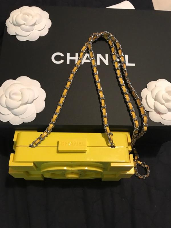 0d5aa1148cdb Chanel  Lego Handbag (Yellow) on Storenvy