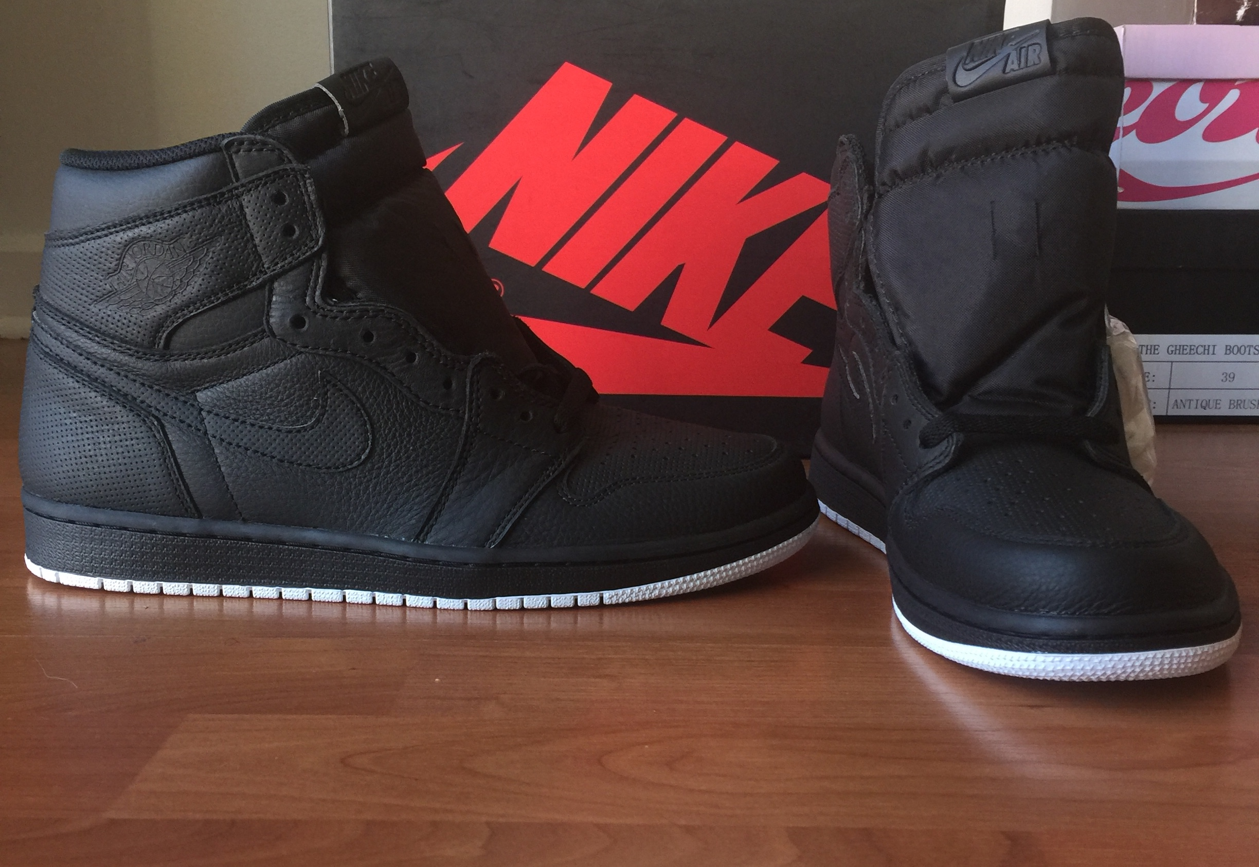 5e92356f3197 Nike Air Jordan  1 s Retro Perforated Pack High OG - Thumbnail ...