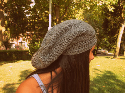 551c170b842 Grey handmade hat