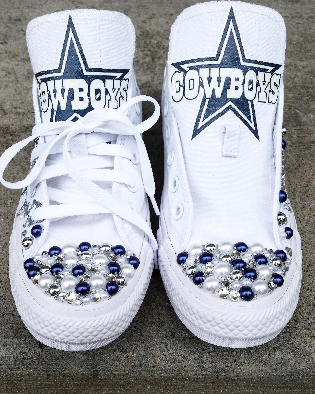 c1ca4e7475e6 Custom Low Top Dallas Cowboys Converse · FaisonCreations · Online ...