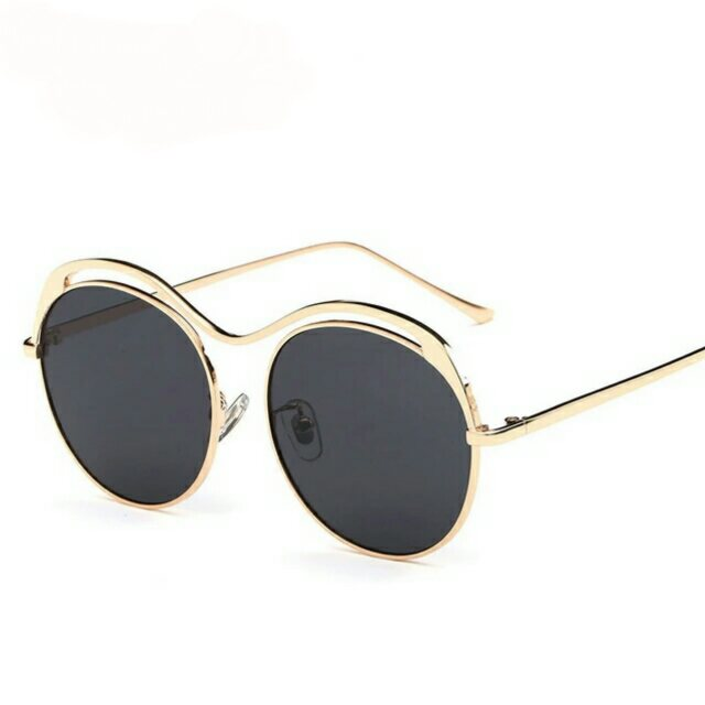 10ee27960d8 Retro Style Lady Round Sunglasses Man Unique Vintage Eyewear Metal Frame  Colorful on Storenvy