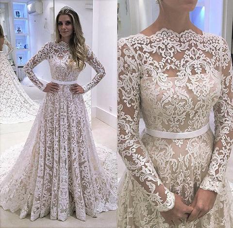8d6cb8a80f2 Long Sleeve Prom Dress